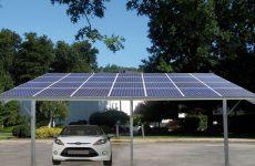 Estrutura para Estacionamento Solar - Carport